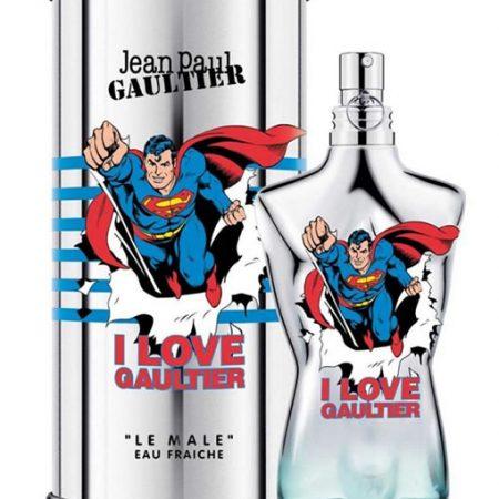 JEAN PAUL GAULTIER JPG LE MALE SUPERMAN EAU FRAICHE EDT FOR MEN