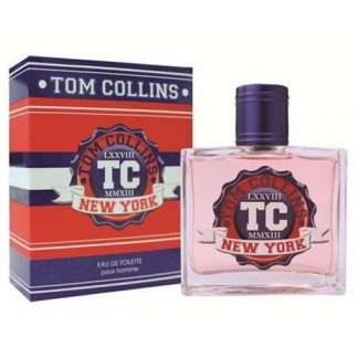 JEANNE ARTHES TOM COLLINS NEW YORK EDT FOR MEN