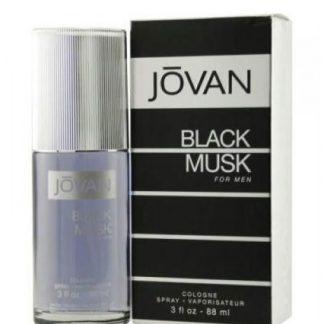JOVAN BLACK MUSK COLOGNE EDC FOR MEN
