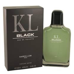 KAREN LOW KL BLACK EDT FOR MEN