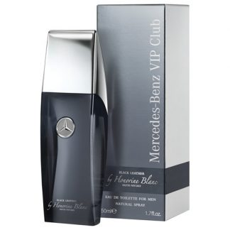 MERCEDES BENZ VIP CLUB BLACK LEATHER BY HONORINE BLANC EDT FOR MEN