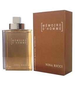 NINA RICCI MEMOIRE D'HOMME EDT FOR MEN