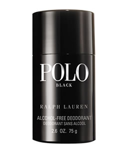 RALPH LAUREN POLO BLACK DEODORANT FOR MEN