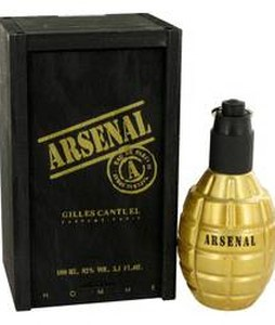 GILLES CANTUEL ARSENAL GOLD EDP FOR MEN