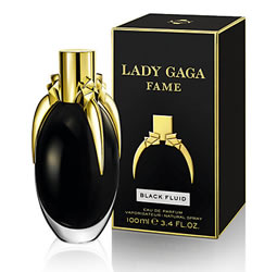LADY GAGA FAME BLACK FLUID EDP FOR WOMEN