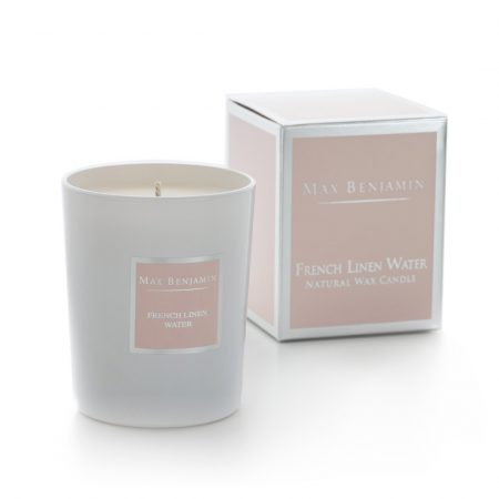 MAX BENJAMIN CLASSIC CANDLE FRENCH LINEN WATER