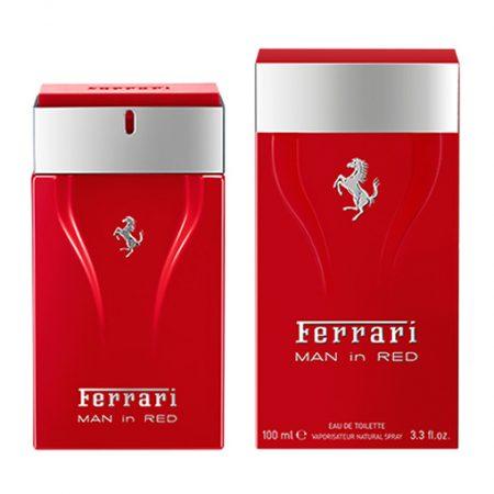 FERRARI MAN IN RED EDT FOR MEN