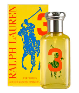 RALPH LAUREN BIG PONY 3 EDT FOR WOMEN