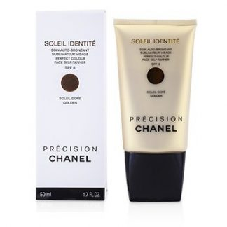 CHANEL SOLEIL IDENTITE PERFECT COLOUR FACE SELF TANNER SPF8 - DORE (GOLDEN) 50ML/1.7OZ