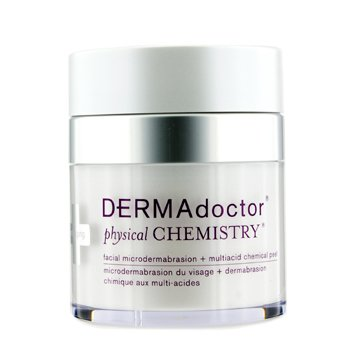 DERMADOCTOR PHYSICAL CHEMISTRY FACIAL MICRODERMABRASION + MULTIACID CHEMICAL PEEL 50ML/1.7OZ