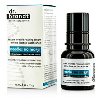 DR. BRANDT NEEDLES NO MORE INSTANT WRINKLE RELAXING CREAM 15G/0.5OZ