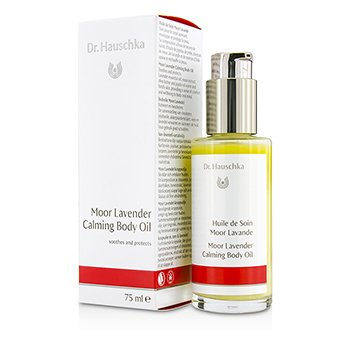 DR. HAUSCHKA MOOR LAVENDER CALMING BODY OIL  - SOOTHES & PROTECTS 75ML/2.5OZ