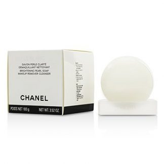 CHANEL LE BLANC BRIGHTENING PEARL SOAP MAKEUP REMOVER-CLEANSER 100G/3.52OZ