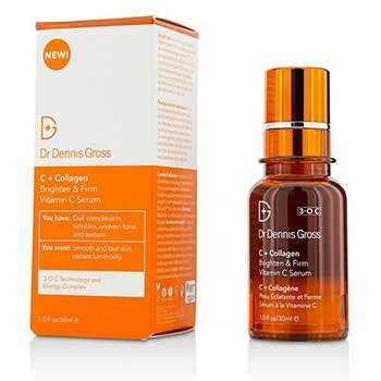 DR DENNIS GROSS C + COLLAGEN BRIGHTEN & FIRM VITAMIN C SERUM 30ML/1OZ