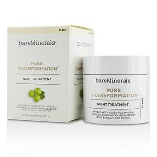 BAREMINERALS PURE TRANSFORMATION NIGHT TREATMENT - CLEAR 4.2G/0.15OZ