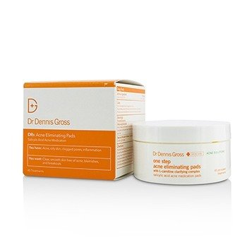 DR DENNIS GROSS DRX ACNE ELIMINATING PADS 45 TREATMENTS
