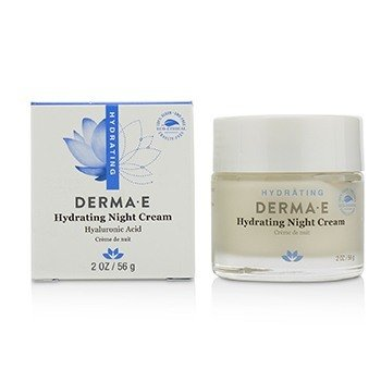 DERMA E HYDRATING NIGHT CREAM 56G/2OZ