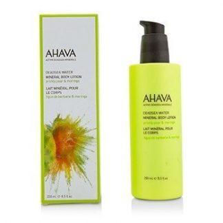 AHAVA DEADSEA WATER MINERAL BODY LOTION - PRICKLY PEAR & MORINGA 250ML/8.5OZ