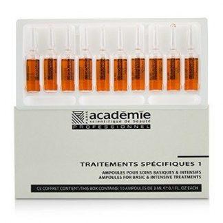 ACADEMIE SPECIFIC TREATMENTS 1 AMPOULES ROUGEURS DIFFUSES - SALON PRODUCT 10X3ML/0.1OZ