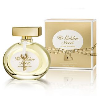 ANTONIO BANDERAS HER GOLDEN SECRET EDT FOR WOMEN