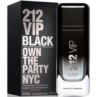 CAROLINA HERRERA 212 VIP BLACK EDP FOR MEN