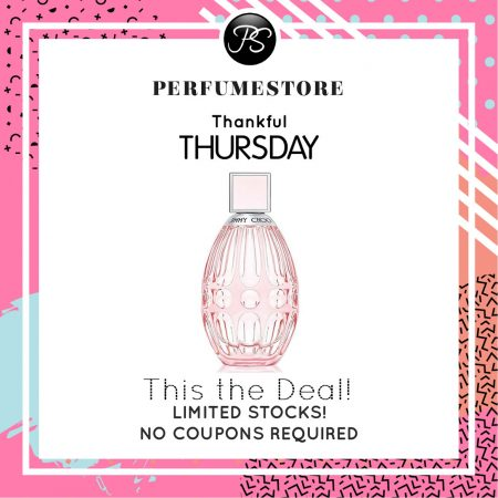 JIMMY CHOO L'EAU EDT FOR WOMEN 90ML [THANKFUL THURSDAY SPECIAL]