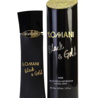 LOMANI BLACK & GOLD EDP FOR WOMEN