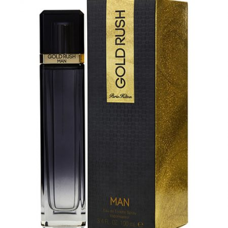 PARIS HILTON GOLD RUSH MAN EDT FOR MEN