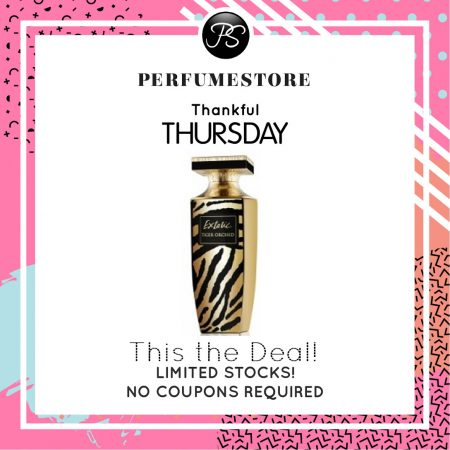PIERRE BALMAIN EXTATIC TIGER ORCHID EDP FOR WOMEN 90ML [THANKFUL THURSDAY SPECIAL]