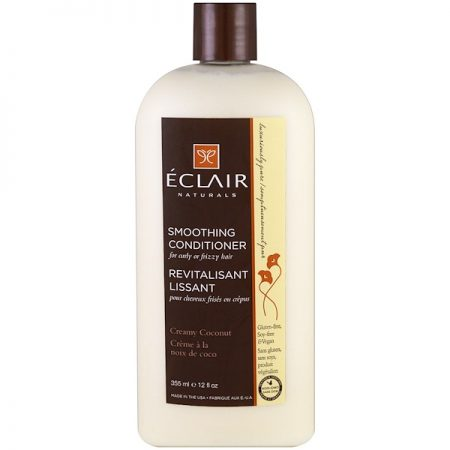 ECLAIR NATURALS, SMOOTHING CONDITIONER, CREAMY COCONUT, 12 FL OZ / 355ml