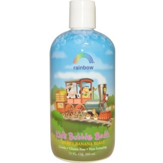 RAINBOW RESEARCH, KID'S BUBBLE BATH, BERRY BANANA BLAST, 12 FL OZ / 360ml