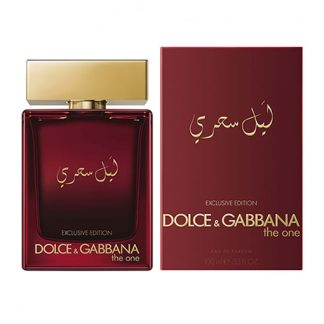 DOLCE & GABBANA D&G THE ONE MYSTERIOUS NIGHT EXCLUSIVE EDITION EDP FOR MEN