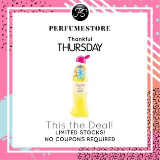 MOSCHINO CHEAP AND CHIC HIPPY FIZZ EDT FOR WOMEN 100ML [THANKFUL THURSDAY SPECIAL]