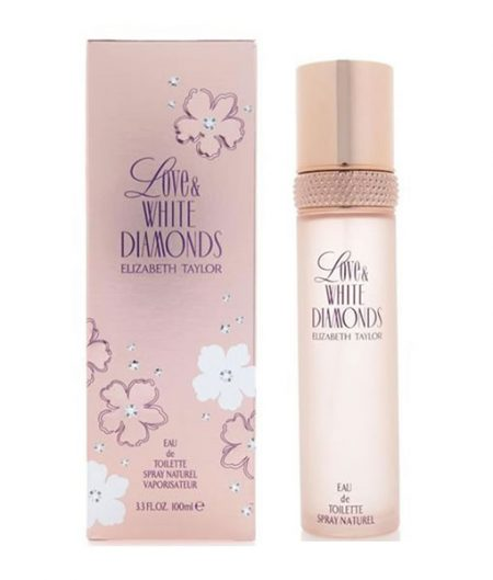 ELIZABETH TAYLOR LOVE AND WHITE DIAMONDS EDT FOR WOMEN