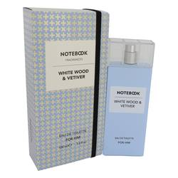 SELECTIVA SPA NOTEBOOK WHITE WOOD & VETIVER EDT FOR MEN