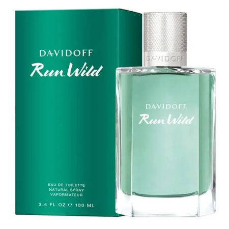 DAVIDOFF RUN WILD EDT FOR MEN