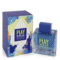 ANTONIO BANDERAS PLAY IN BLUE SEDUCTION EDT FOR MEN