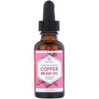 Leven Rose, 100% Pure & Natural, Coffee Bean Oil, 1 fl oz (30 ml)