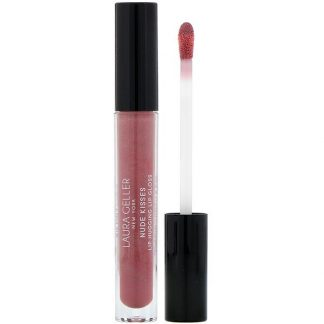 Laura Geller, Nude Kisses, Lip Hugging Lip Gloss, Blushing, 0.10 fl oz (2.9 ml)
