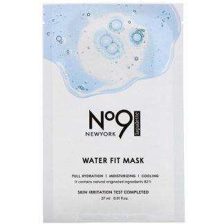 Lapalette, No.9 Water Fit Mask, 10 Sheets, 0.91 fl oz (27 ml) Each
