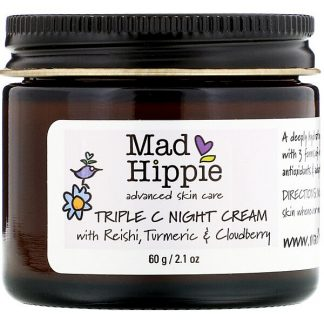 Mad Hippie Skin Care Products, Triple C Night Cream, 2.1 oz (60 g)