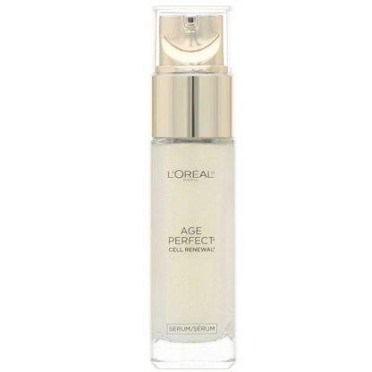 L'Oreal, Age Perfect Cell Renewal, Skin Renewing Facial Treatment, 1 fl oz (30 ml)