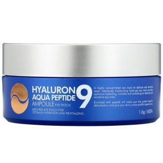Medi-Peel, Hyaluron Peptide 9, Ampoule Eye Patch, Aqua, 60 Patches