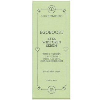 Supermood, Egoboost, Eyes Wide Open Serum, 0.5 fl oz (15 ml)