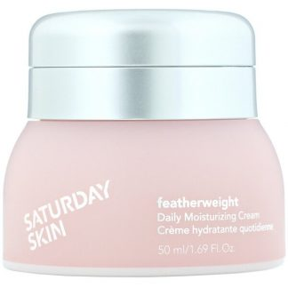 Saturday Skin, Featherweight, Daily Moisturizing Cream, 1.69 fl oz (50 ml)