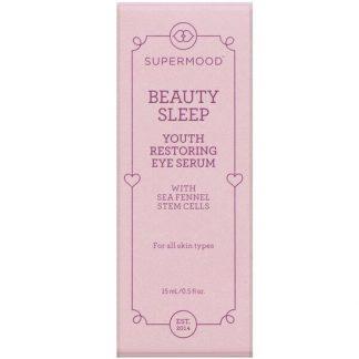 Supermood, Beauty Sleep, Youth Restoring Eye Serum, 0.5 fl oz (15 ml)