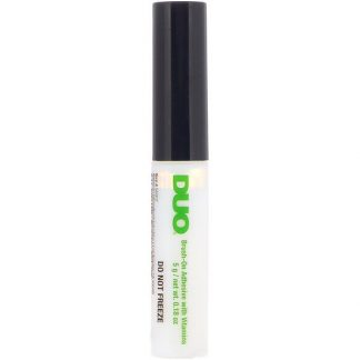 DUO, Brush On Striplash Adhesive, White/Clear, 0.18 oz (5 g)