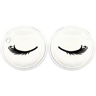 The Vintage Cosmetic Co., Cooling Gel Eye Pads, 1 Set