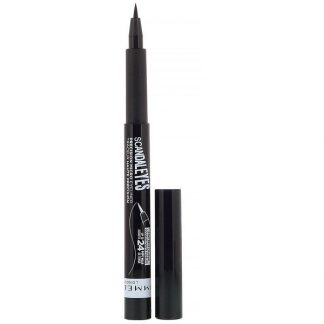 Rimmel London, Scandaleyes Micro Eyeliner, 001 Black, .037 fl oz (1.1 ml)
