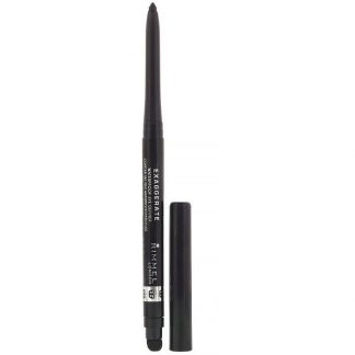 Rimmel London, Exaggerated Eye Definer, 262 Blackest Black, .009 oz (.28 g)